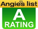 A rated on Angie's list