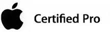 Apple certified pro certification for business IT support and services page