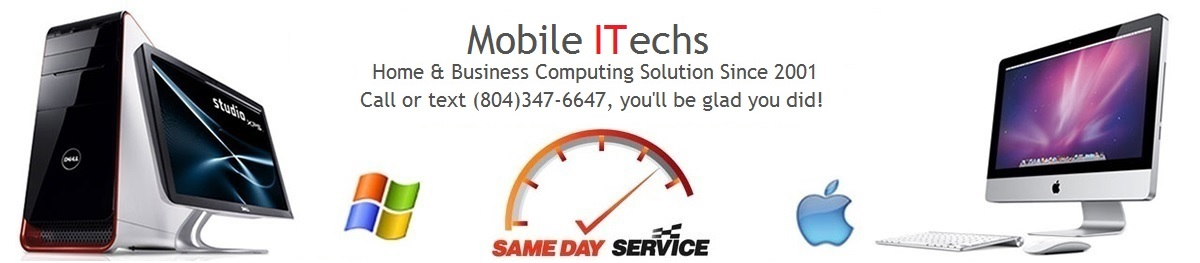 PC & Mac Banner on business IT support and services page